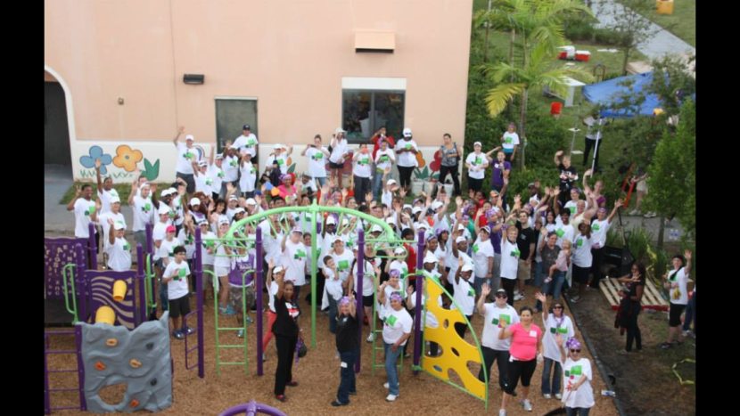 Kiwanis Miramar Pines Playground Build